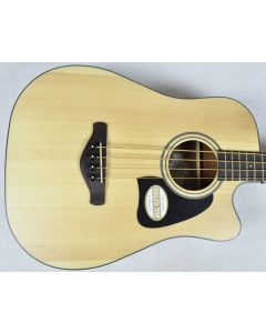 Ibanez AWB50CE-LG Artwood Series Acoustic Electric Bass in Natural Low Gloss Finish