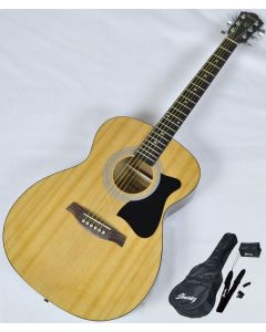 Ibanez IJVC50 JAMPACK Acoustic Guitar Package in Natural High Gloss Finish IJVC50.B