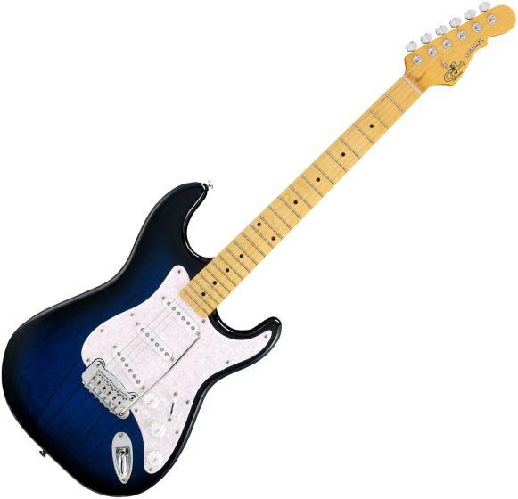 G&L Tribute Legacy Guitar in Blueburst Maple