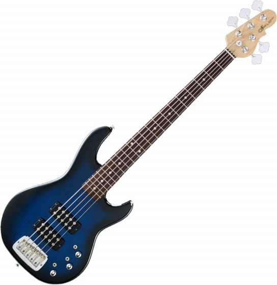 G&L Tribute L-2000 Bass in Blueburst with Rosewood Fingerboard