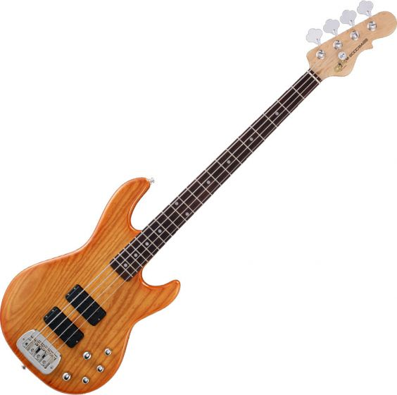 G&L Tribute M-2000 Electric Bass Honeyburst