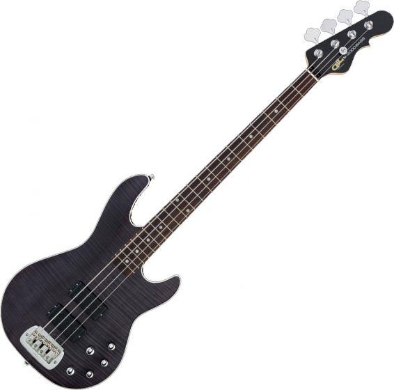 G&L Tribute M-2000 GTS Electric Bass Trans Black