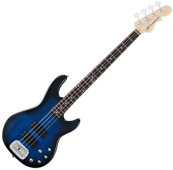 G&L Tribute M-2000 Bass Guitar in Blueburst Finish