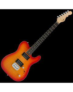 G&L ASAT Deluxe USA Custom Made Guitar in Cherryburst Finish 104000