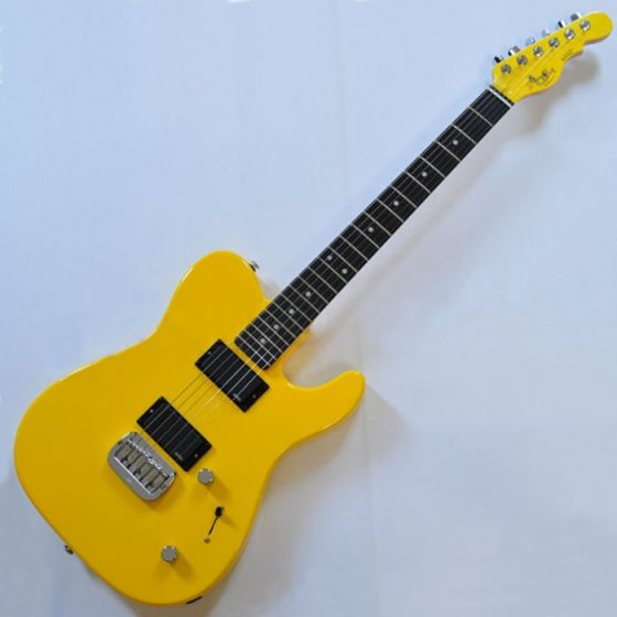 G&L ASAT Deluxe USA Custom Made Guitar in Yellow Fever