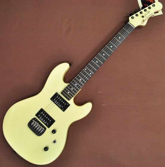 G&L USA Custom Made Jerry Cantrell Superhawk Signature Guitar in Ivory