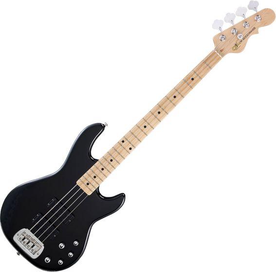 G&L Tribute M-2000 Bass Guitar in Gloss Black Finish