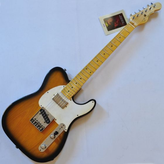 G&L USA ASAT Classic Bluesboy Rustic Guitar in 2 Tone Sunburst