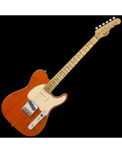G&L ASAT Classic Bluesboy 90 USA Custom Made Guitar in Clear Orange 107782