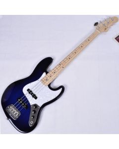 G&L JB USA Custom Made Electric Bass in Blueburst Empress Body 108293