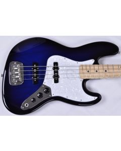G&L JB USA Custom Made Electric Bass in Blueburst Empress Body