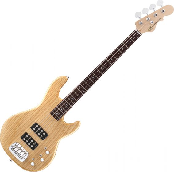 G&L Tribute L-2000 Bass Guitar in Natural Gloss Finish Flawless Store Demo