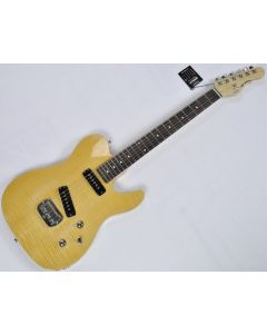 G&L Tribute ASAT Special Deluxe Flamed Maple Top Guitar in Natural TI-ASATD-FM-NAT
