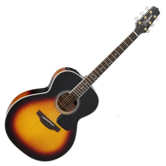 Takamine P6N BSB Pro Series 6 Acoustic Guitar in Brown Sunburst Finish