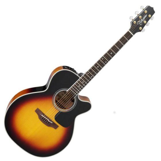 Takamine P6N BSB Pro Series 6 Cutaway Acoustic Guitar in Brown Sunburst Finish