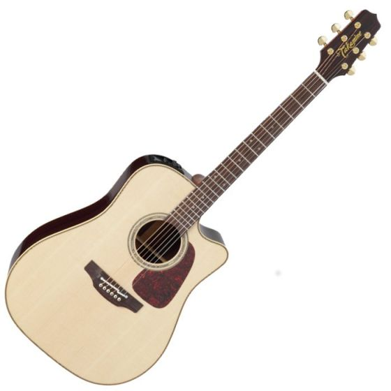 Takamine P5DC Pro Series 5 Cutaway Acoustic Guitar in Natural Gloss Finish