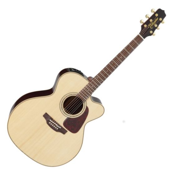Takamine P5JC Pro Series 5 Cutaway Acoustic Guitar in Natural Gloss Finish