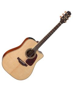 Takamine P4DC Pro Series 4 Cutaway Acoustic Guitar in Natural Gloss Finish TAKP4DC