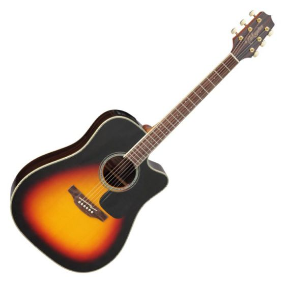 Takamine GD51CE-BSB G-Series G50 Cutaway Acoustic Electric Guitar in Brown Sunburst Finish