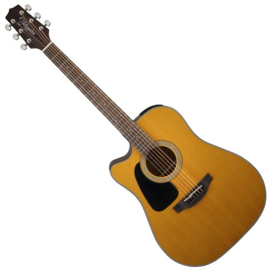 Takamine GD30CELH-NAT G-Series G30 Left Handed Acoustic Electric Guitar in Natural Finish