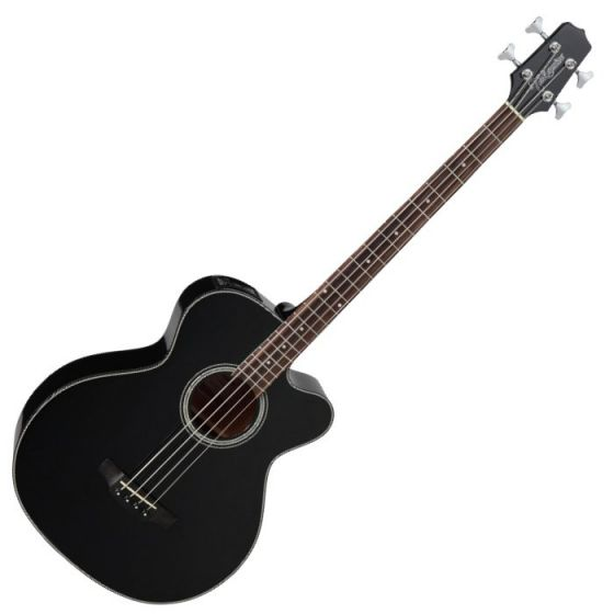 Takamine GB30CE-BLK G-Series Acoustic Electric Bass in Black Finish