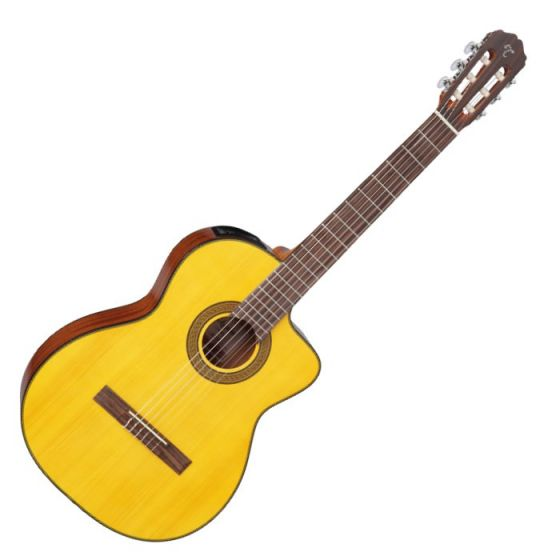 Takamine GC3CE-NAT G-Series Acoustic Electric Classical Guitar in Natural Finish