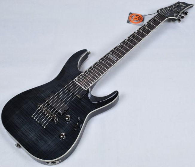 ESP LTD Deluxe H-1007 Electric Guitar in See Through Black B-Stock