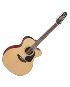 Takamine P1JC-12 Pro Series 1 12 String Cutaway Acoustic Electric Guitar in Satin Finish TAKP1JC12