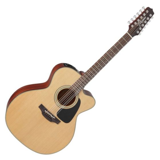 Takamine P1JC-12 Pro Series 1 12 String Cutaway Acoustic Electric Guitar in Satin Finish