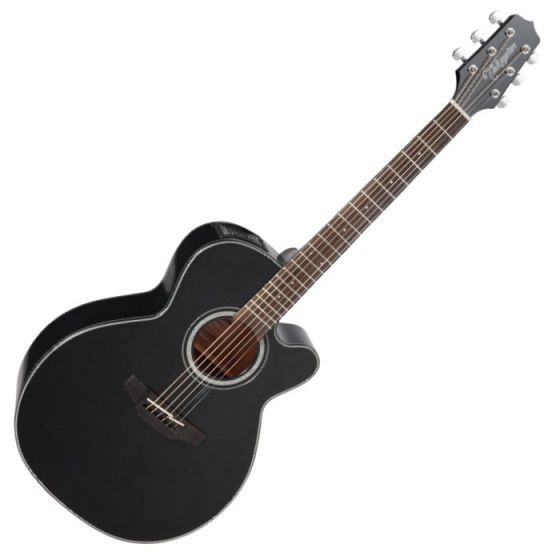 Takamine GN30CE-BLK G-Series G30 Cutaway Acoustic Electric Guitar in Black Finish