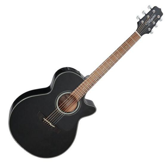 Takamine GF30CE-BLK G-Series G30 Cutaway Acoustic Electric Guitar in Black Finish