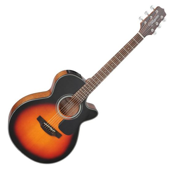 Takamine GF30CE-BSB G-Series G30 Cutaway Acoustic Electric Guitar in Brown Sunburst Finish