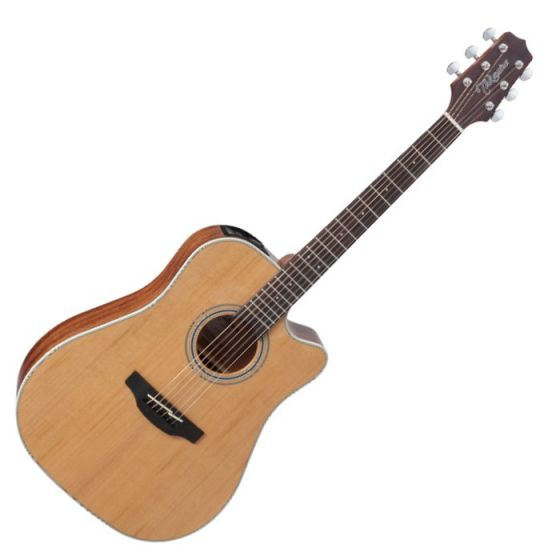 Takamine GD20CE-NS G-Series G20 Cutaway Acoustic Electric Guitar in Natural Finish