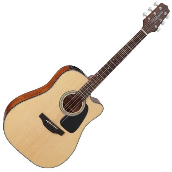 Takamine GD15CE-NAT G-Series G15 Cutaway Acoustic Electric Guitar in Natural Finish