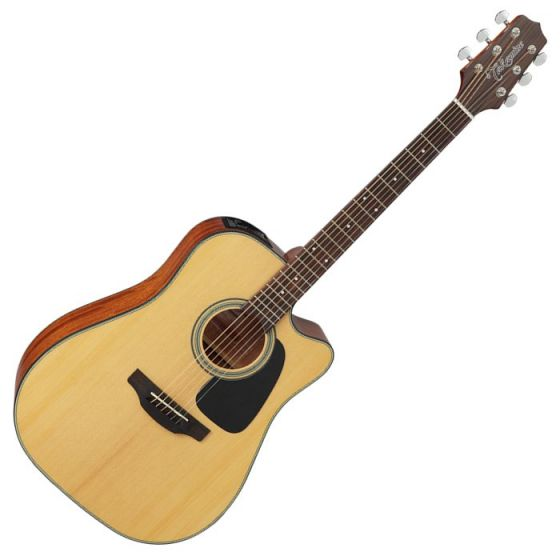 Takamine GD10CE-NS G-Series G10 Cutaway Acoustic Electric Guitar in Natural Finish