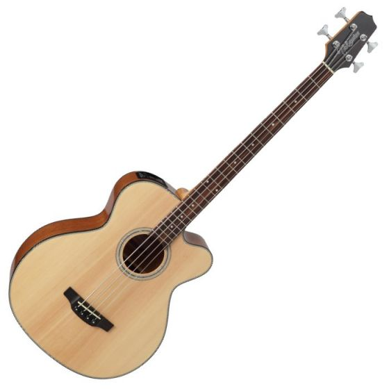 Takamine GB30CE-NAT G-Series Acoustic Electric Bass in Natural Finish