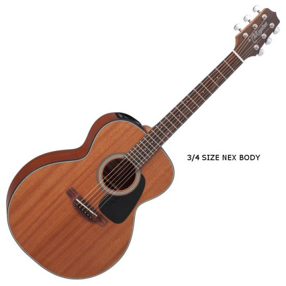 Takamine GX11ME-NS G-Series Mini Acoustic Guitar in Natural Finish