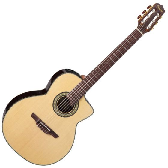Takamine TC135SC Classical Acoustic Electric Guitar in Natural Gloss Finish