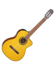 Takamine GC1CE-NAT G-Series Classical Acoustic Electric Guitar in Natural Finish TAKGC1CENAT