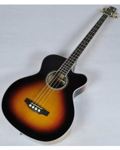 Takamine GB72CE-BSB G-Series Acoustic Electric Bass in Brown Sunburst Finish TC13113534 TAKGB72CEBSB.B 3534