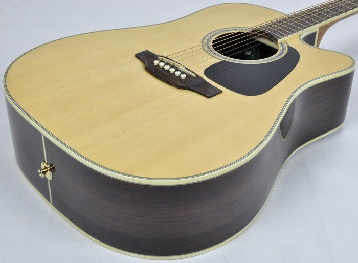 Takamine Gd51ce-nat Dreadnought Acoustic/electric Guitar Guitars & Basses Natural Grade Products According To Quality