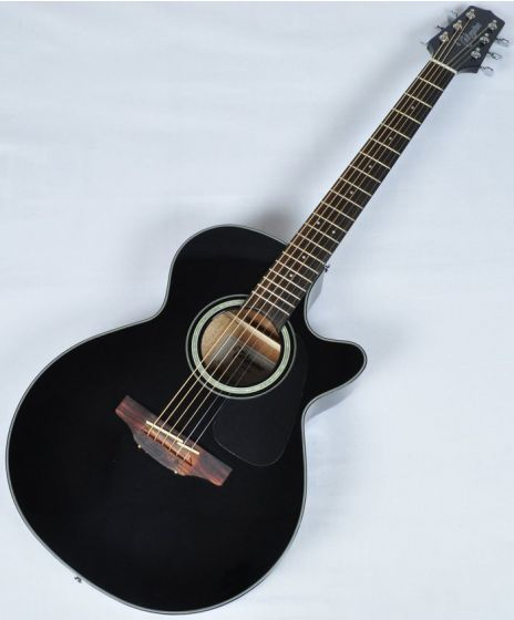 Takamine GF30CE-BLK Cutaway Acoustic Electric Guitar in Black Finish B-Stock CC130614201