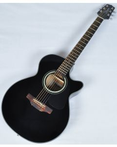Takamine GF30CE-BLK Cutaway Acoustic Electric Guitar in Black Finish B-Stock CC130614201 TAKGF30CEBLK.B 4201