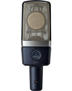 AKG C214 Professional Large-Diaphragm Condenser Microphone - Stereo Set 3185X00110