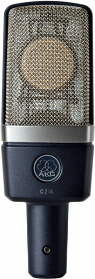 AKG C214 Professional Large-Diaphragm Condenser Microphone - Stereo Set