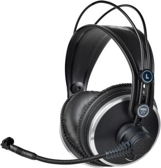 AKG HSC271 Professional Headsets With Condenser Microphone