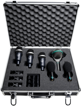 AKG Rhythm Pack Professional Drum Microphone Set