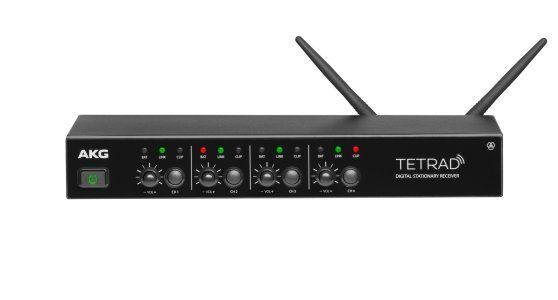 AKG DSR TETRAD Professional Digital Wireless Multichannel Receiver