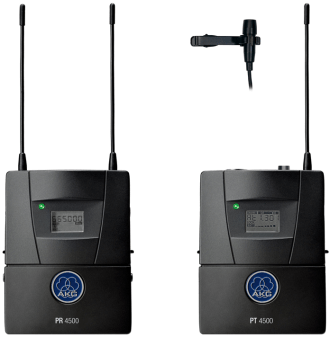 AKG PR4500 ENG Set PT BD7 Reference Wireless ENG/EFP Set