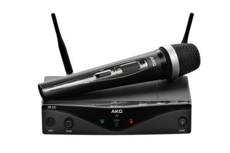 AKG WMS420 Vocal Set Band U2 - Professional Wireless Microphone System